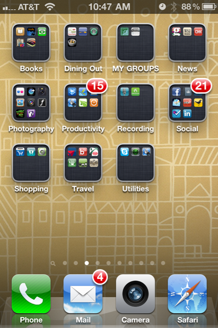 iphone app folder get more out of iphone folders the all or nothing 4603