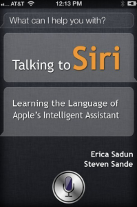 ebook cover Talking to Siri