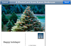 Creating a card with Bill Atkinson Photocards